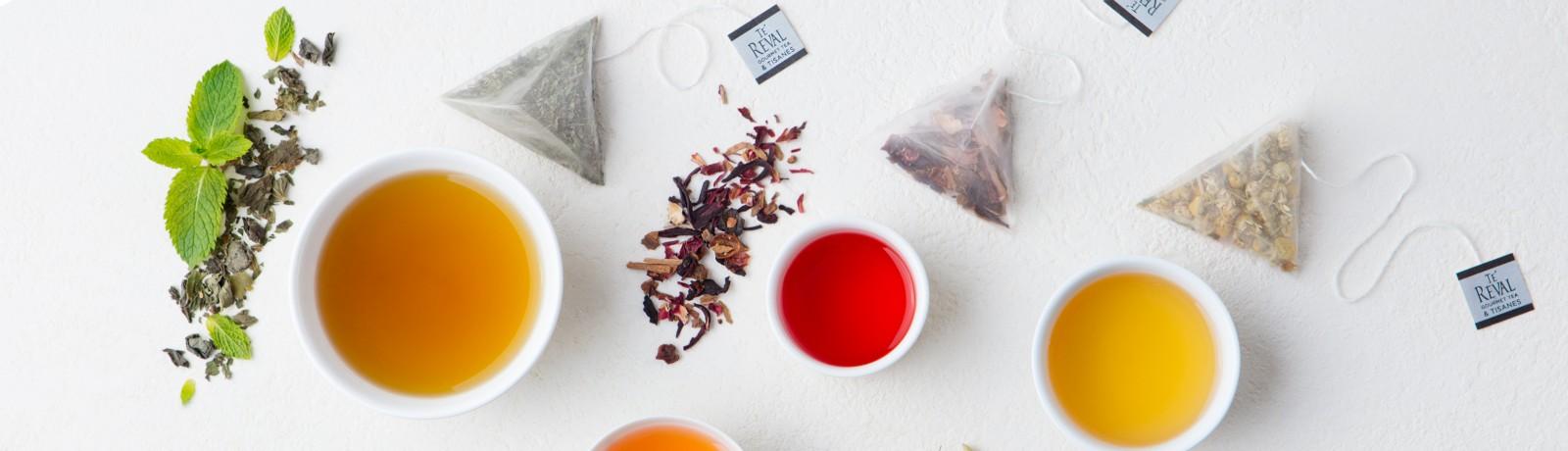 Te Reval Pyramid Tea Bags