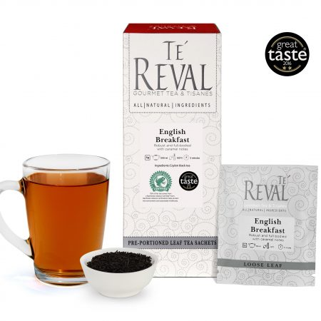 Te' Reval award winning English Breakfast loose tea
