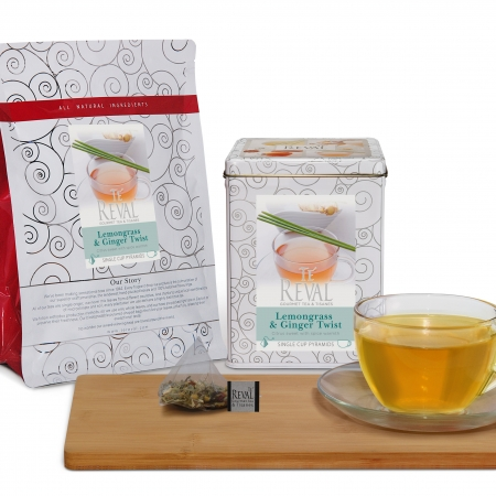 Te' Reval Lemongrass & Ginger Twist tea
