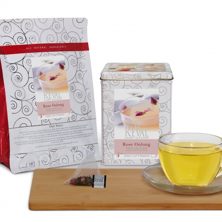 Te' reval Rose Oolong tea bags